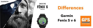Review and differences of the Garmin Fenix 6 GPS watch