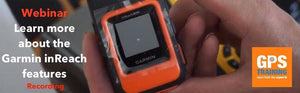 Webinar - Learn more about the Garmin inReach Features