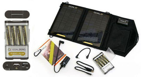 Goal Zero Guide 10 Plus Solar Recharging Kit with Nomad 7 Panel