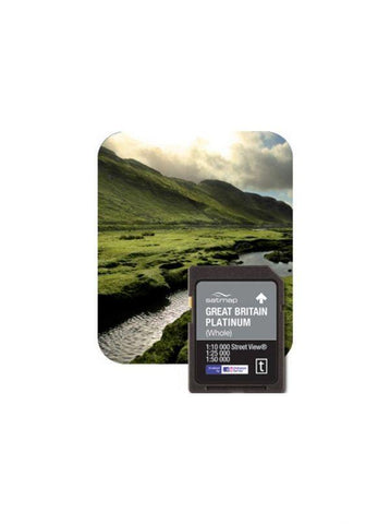 Satmap mapping - Platinum Map Card