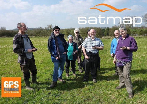 Satmap & Xpedition GPS course - Northamptonshire - GPS Training