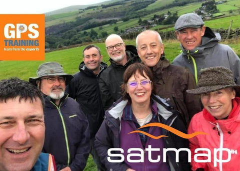 Satmap & Xpedition GPS course - Peak District - GPS Training
