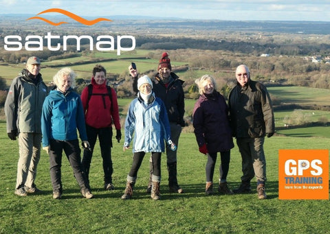 Satmap & Xpedition GPS course - South Downs