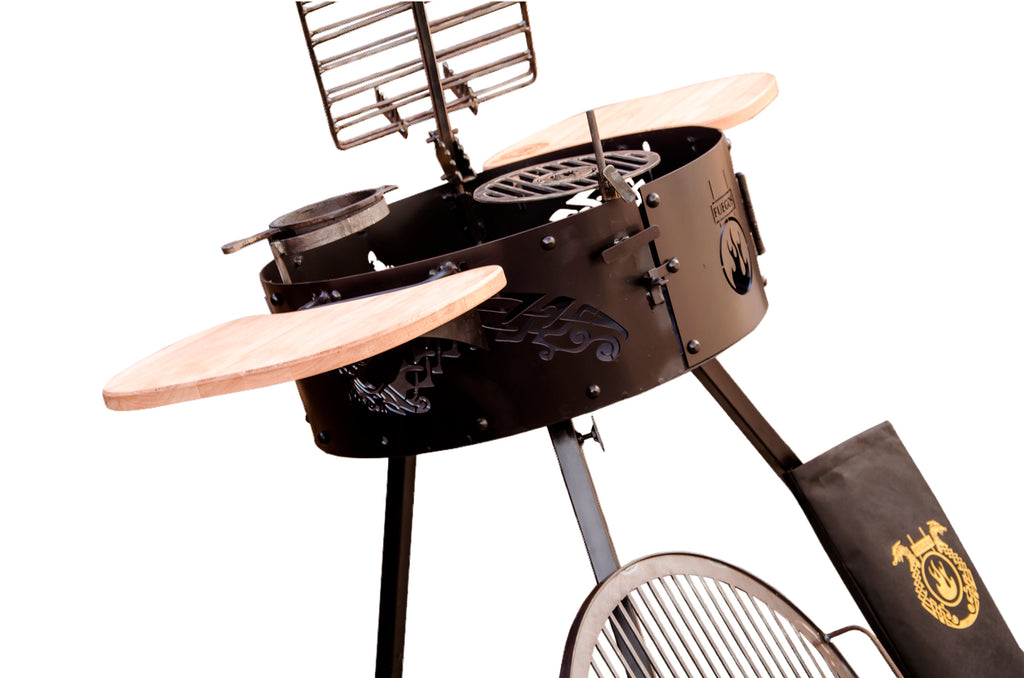 Fuegos UK - Ivar Pro - Handmade Barbecues and Grills