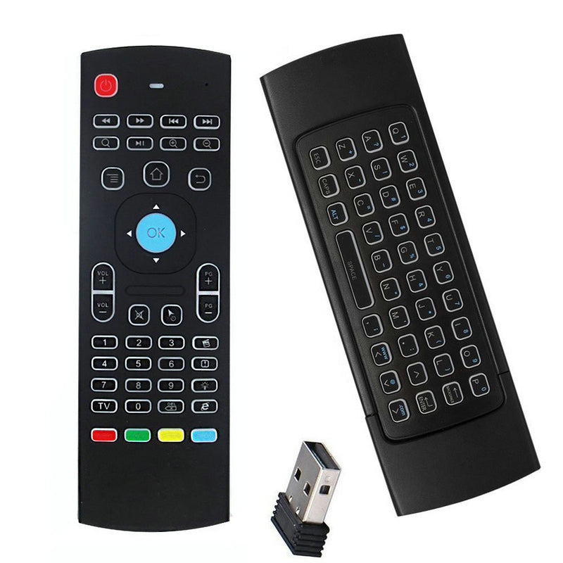 MX3 Air Mouse 2.4G Backlight TV Box Remote Control