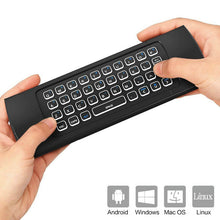 Load image into Gallery viewer, MX3 Air Mouse 2.4G Backlight TV Box Remote Control