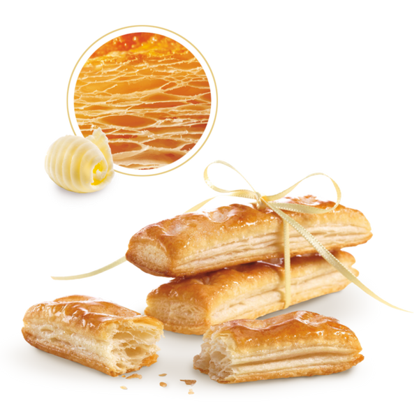Puff pastry sticks with butter 125g