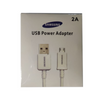 CABO USB POWER ADAPTER 2A (SAMSUNG)