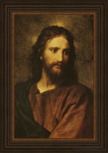 Christ At Thirty-Three Open Edition Print / 11 X 17 Frame A 20 3/4 14 Art