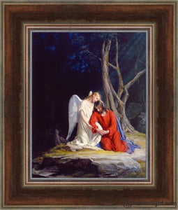 Gethsemane Open Edition Canvas / 16 1/2 X 21 Frame A Art