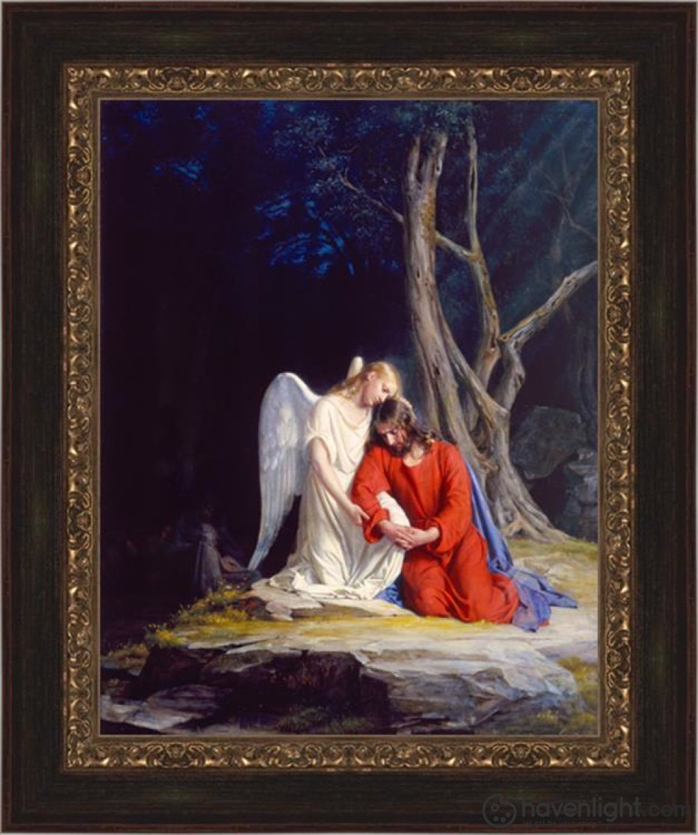 Gethsemane Open Edition Canvas / 16 1/2 X 21 Frame E Art