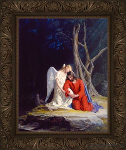 Gethsemane Open Edition Canvas / 22 X 28 Frame A Art