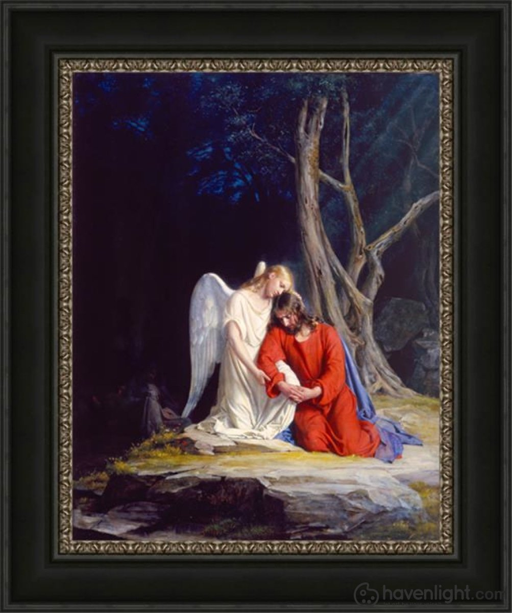 Gethsemane Open Edition Canvas / 22 X 28 Frame C Art