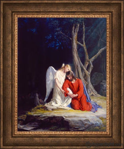 Gethsemane Open Edition Canvas / 22 X 28 Frame E Art