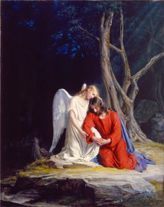 Gethsemane Open Edition Canvas / 26 X 33 Print Only Art