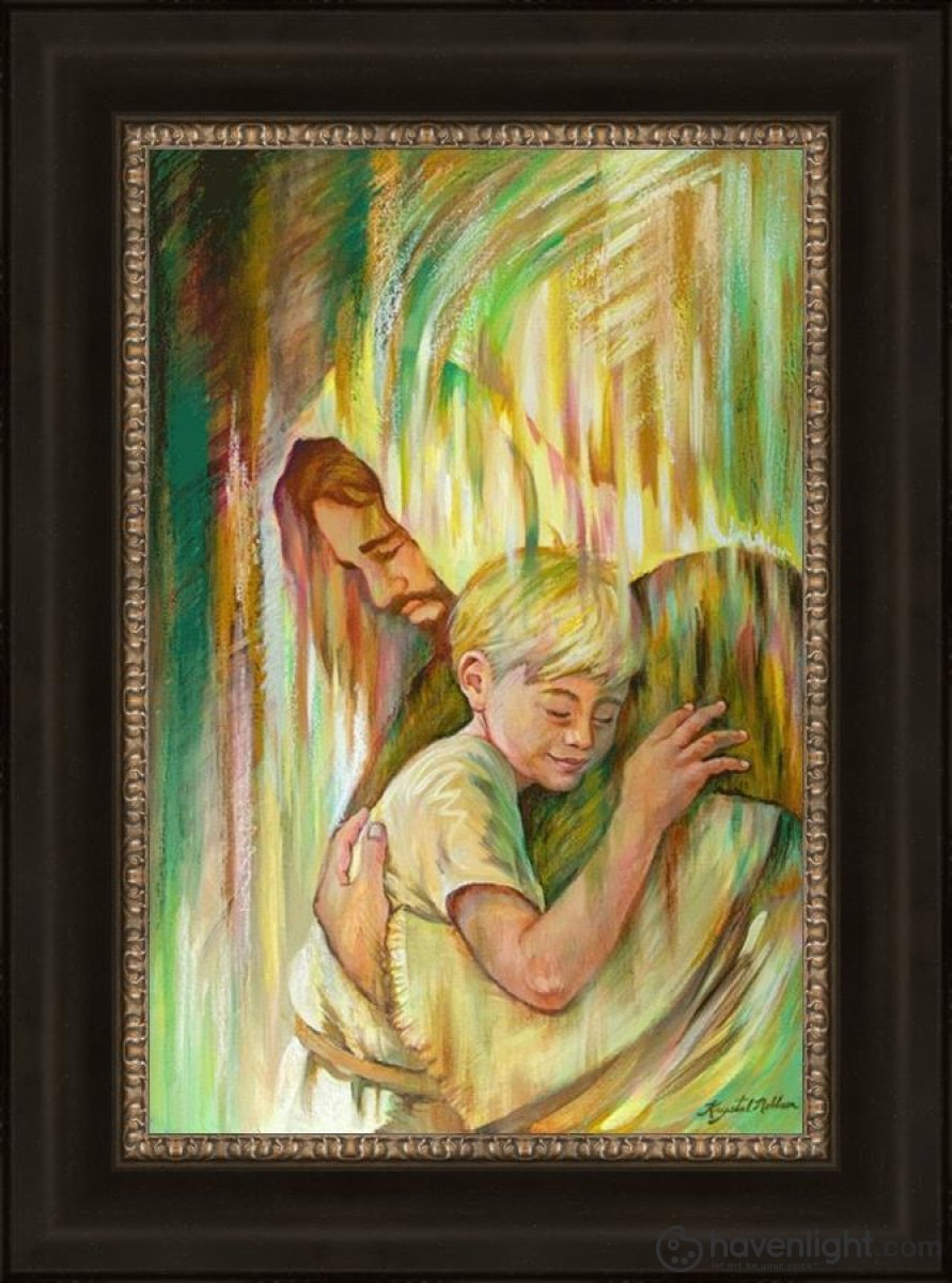 He Hears Me Open Edition Canvas / 16 X 24 Frame W 31 23 Art