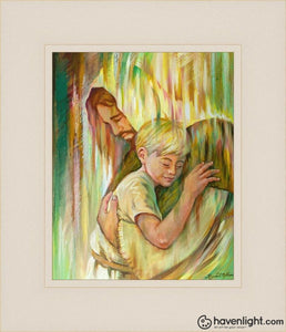 He Hears Me Open Edition Print / 8 X 10 Frame L 14 1/4 12 Art