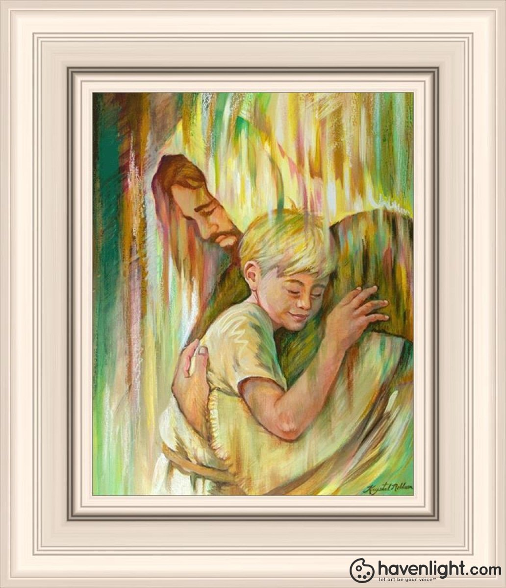 He Hears Me Open Edition Print / 8 X 10 Frame R 14 1/4 12 Art