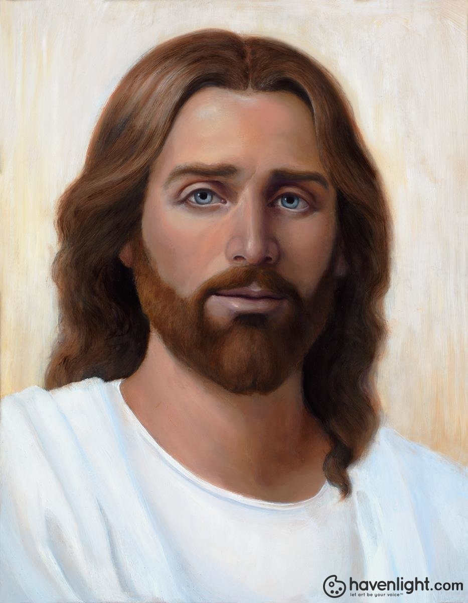 Jesus Open Edition Canvas / 14 X 18 Print Only Art
