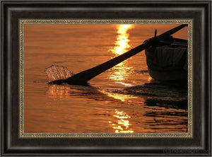 Plate 6 - Fishers Of Men Series 1 Open Edition Canvas / 24 X 16 Frame W 22 3/4 30 Art