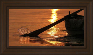 Plate 6 - Fishers Of Men Series 1 Open Edition Canvas / 30 X 15 Frame E 21 3/4 36 Art