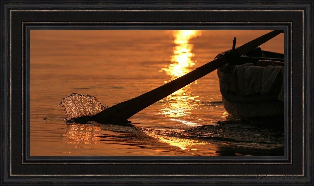 Plate 6 - Fishers Of Men Series 1 Open Edition Canvas / 36 X 18 Frame L 26 1/4 44 Art