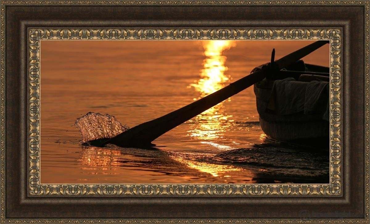 Plate 6 - Fishers Of Men Series 1 Open Edition Canvas / 36 X 18 Frame M 27 3/4 45 Art