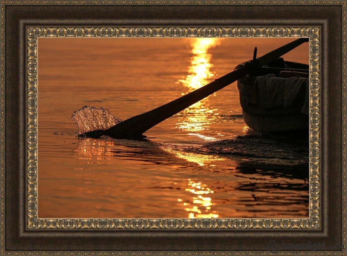 Plate 6 - Fishers Of Men Series 1 Open Edition Canvas / 36 X 24 Frame M 33 3/4 45 Art