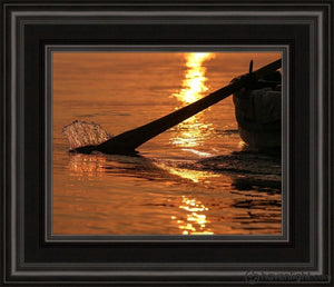 Plate 6 - Fishers Of Men Series 1 Open Edition Print / 10 X 8 Frame C 12 1/4 14 Art