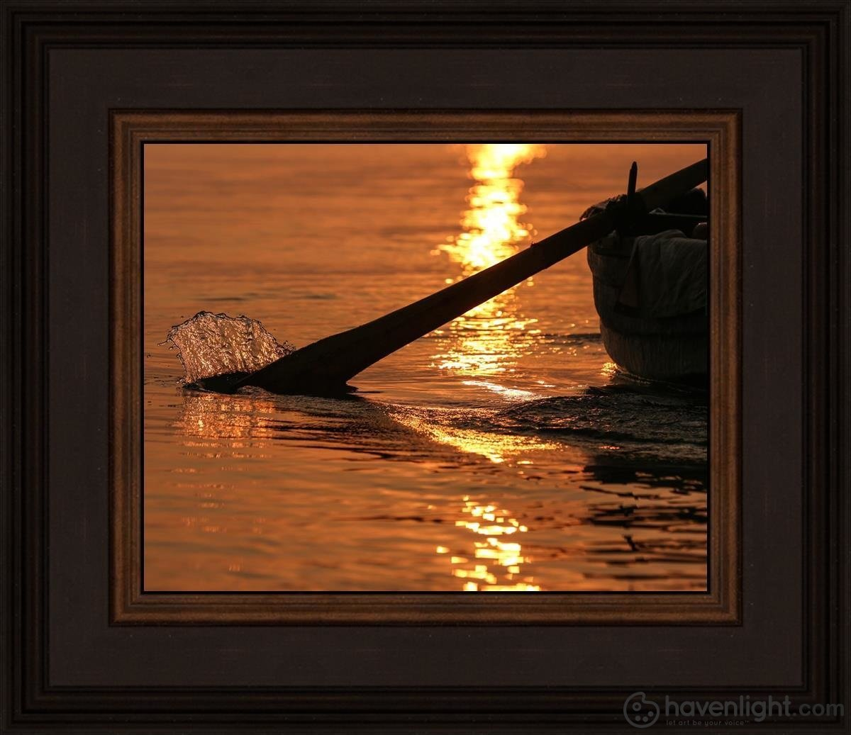 Plate 6 - Fishers Of Men Series 1 Open Edition Print / 10 X 8 Frame N 12 3/4 14 Art