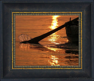 Plate 6 - Fishers Of Men Series 1 Open Edition Print / 10 X 8 Frame W 12 1/2 14 Art