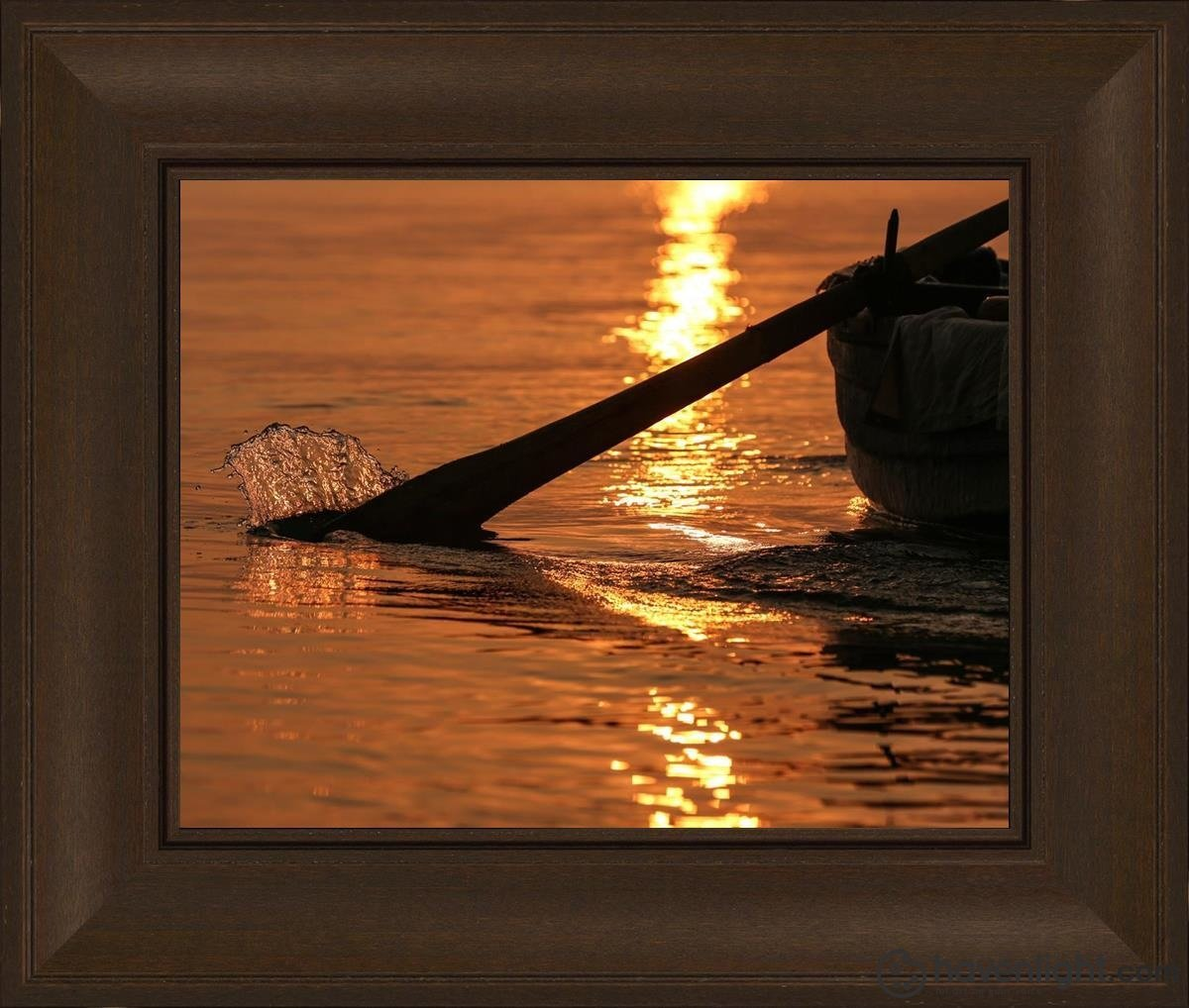 Plate 6 - Fishers Of Men Series 1 Open Edition Print / 14 X 11 Frame C 16 3/4 19 Art