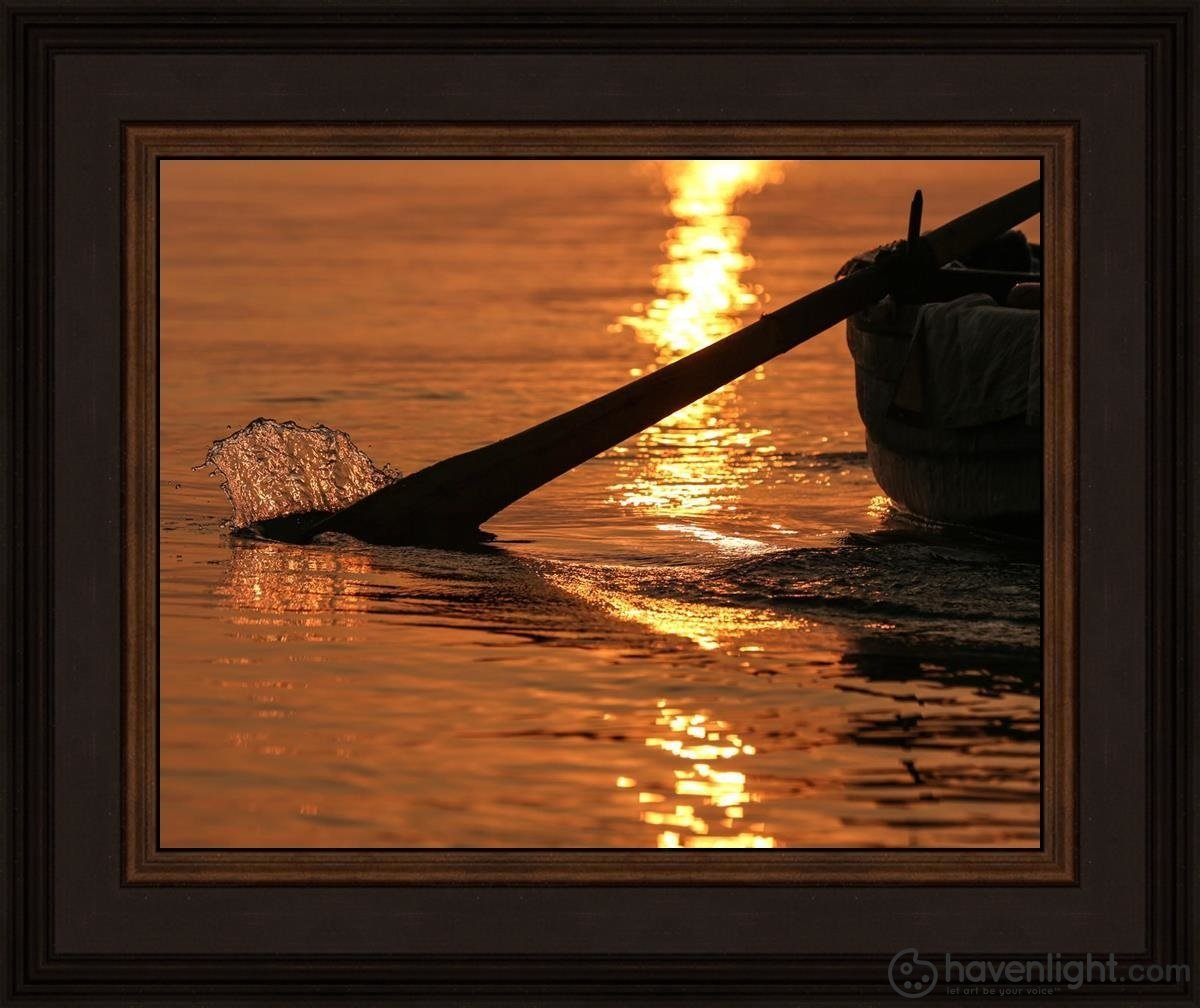 Plate 6 - Fishers Of Men Series 1 Open Edition Print / 14 X 11 Frame N 15 3/4 18 Art