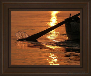 Plate 6 - Fishers Of Men Series 1 Open Edition Print / 14 X 11 Frame S 15 1/4 18 Art