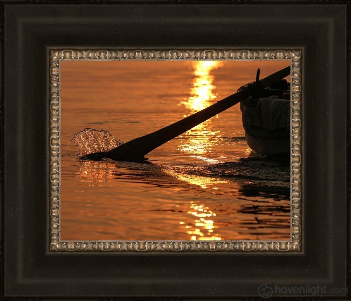 Plate 6 - Fishers Of Men Series 1 Open Edition Print / 14 X 11 Frame W 18 21 Art