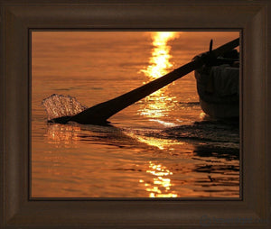 Plate 6 - Fishers Of Men Series 1 Open Edition Print / 20 X 16 Frame C 21 3/4 25 Art