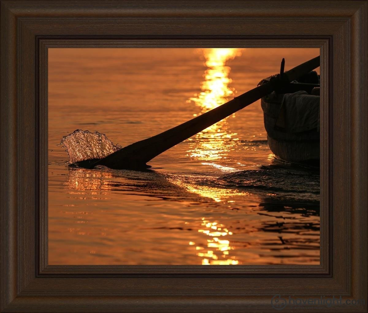 Plate 6 - Fishers Of Men Series 1 Open Edition Print / 20 X 16 Frame E 22 3/4 26 Art