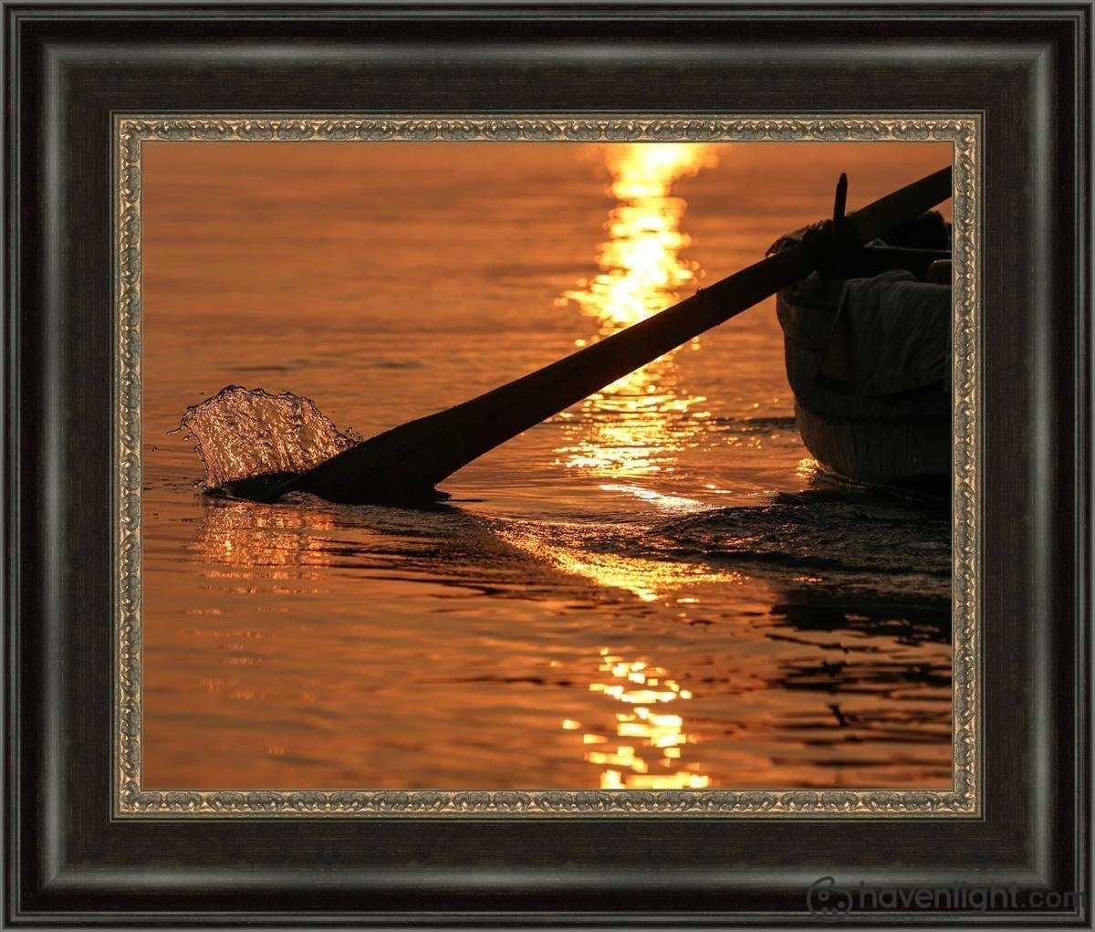 Plate 6 - Fishers Of Men Series 1 Open Edition Print / 20 X 16 Frame W 22 3/4 26 Art