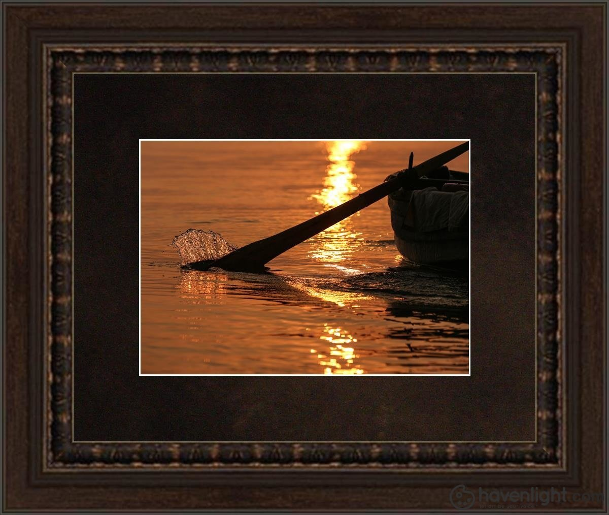 Plate 6 - Fishers Of Men Series 1 Open Edition Print / 7 X 5 Frame A 7/8 9 Art