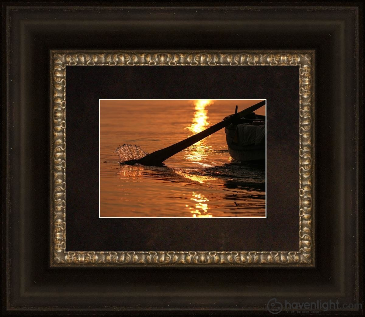 Plate 6 - Fishers Of Men Series 1 Open Edition Print / 7 X 5 Frame B 10 1/4 12 Art