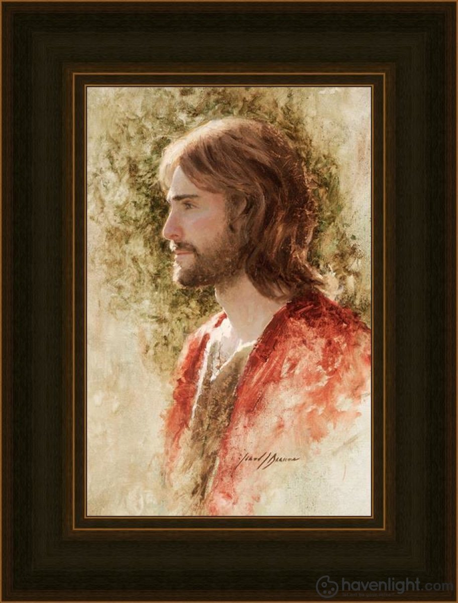 Prince Of Peace Open Edition Canvas / 12 X 18 Frame A 25 19 Art
