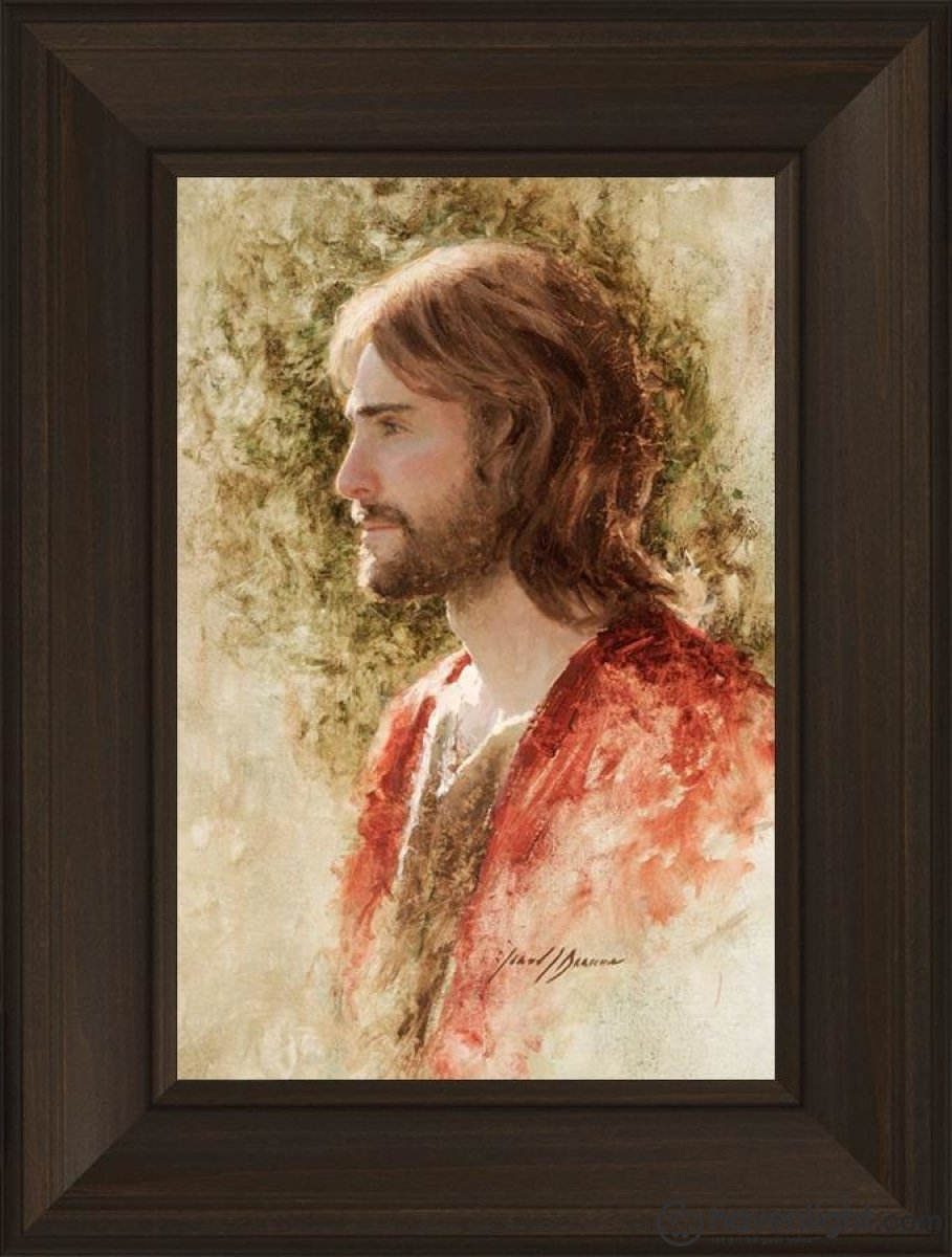 Prince Of Peace Open Edition Canvas / 12 X 18 Frame B 24 3/4 Art