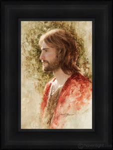 Prince Of Peace Open Edition Canvas / 12 X 18 Frame D 24 3/4 Art