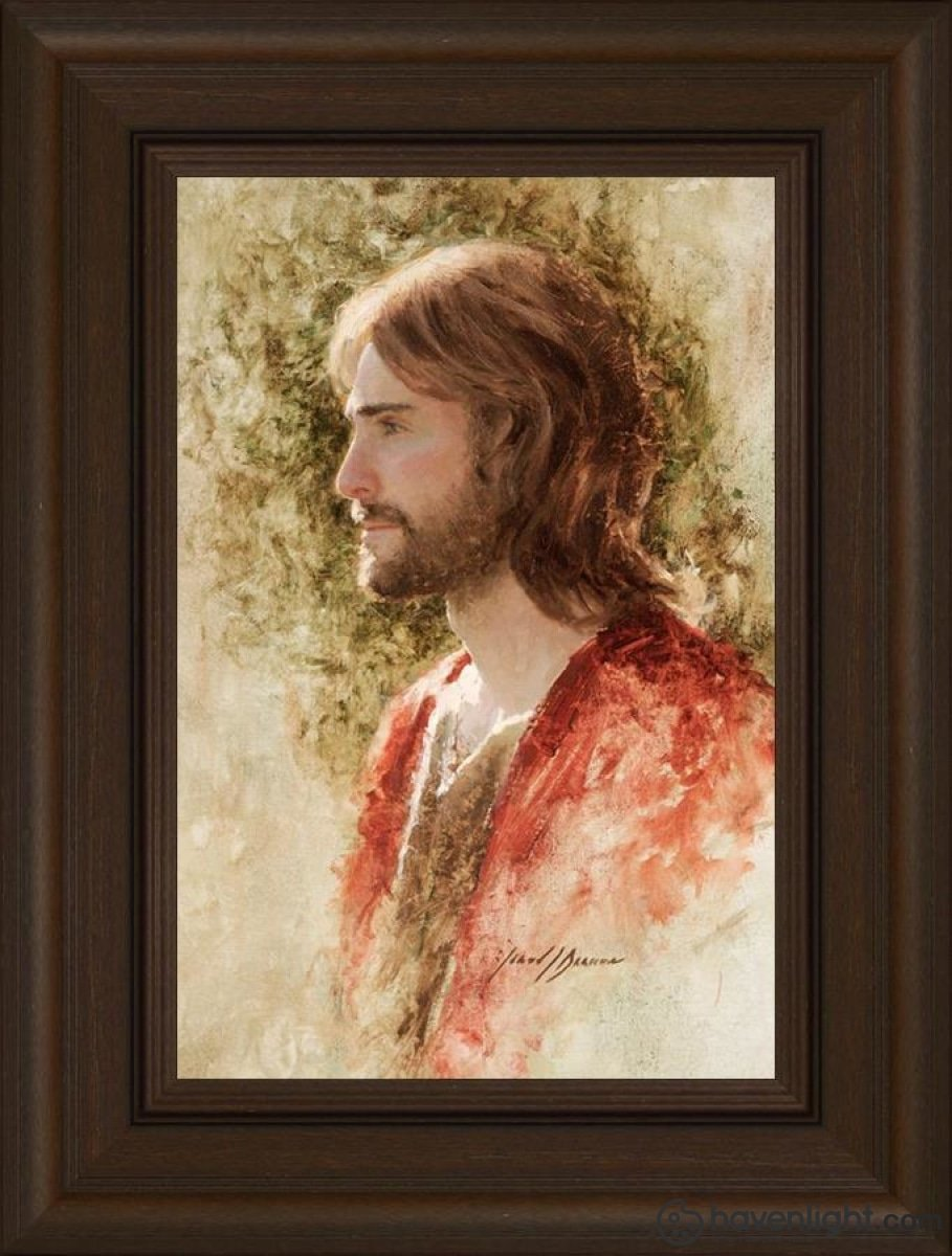 Prince Of Peace Open Edition Canvas / 12 X 18 Frame E 24 3/4 Art