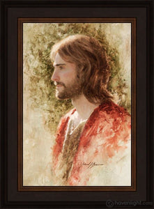 Prince Of Peace Open Edition Canvas / 12 X 18 Frame N 22 3/4 16 Art