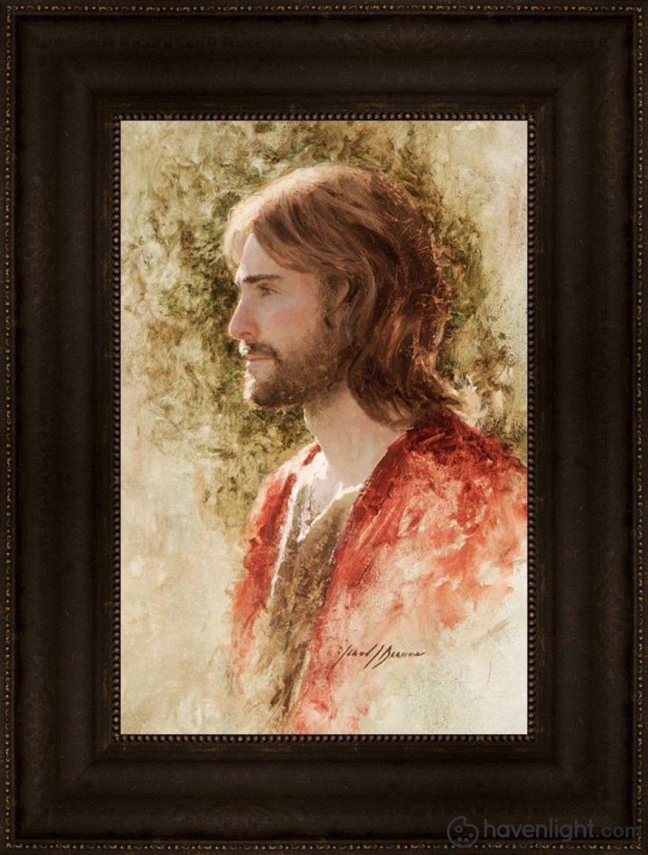 Prince Of Peace Open Edition Canvas / 12 X 18 Frame T 24 3/4 Art