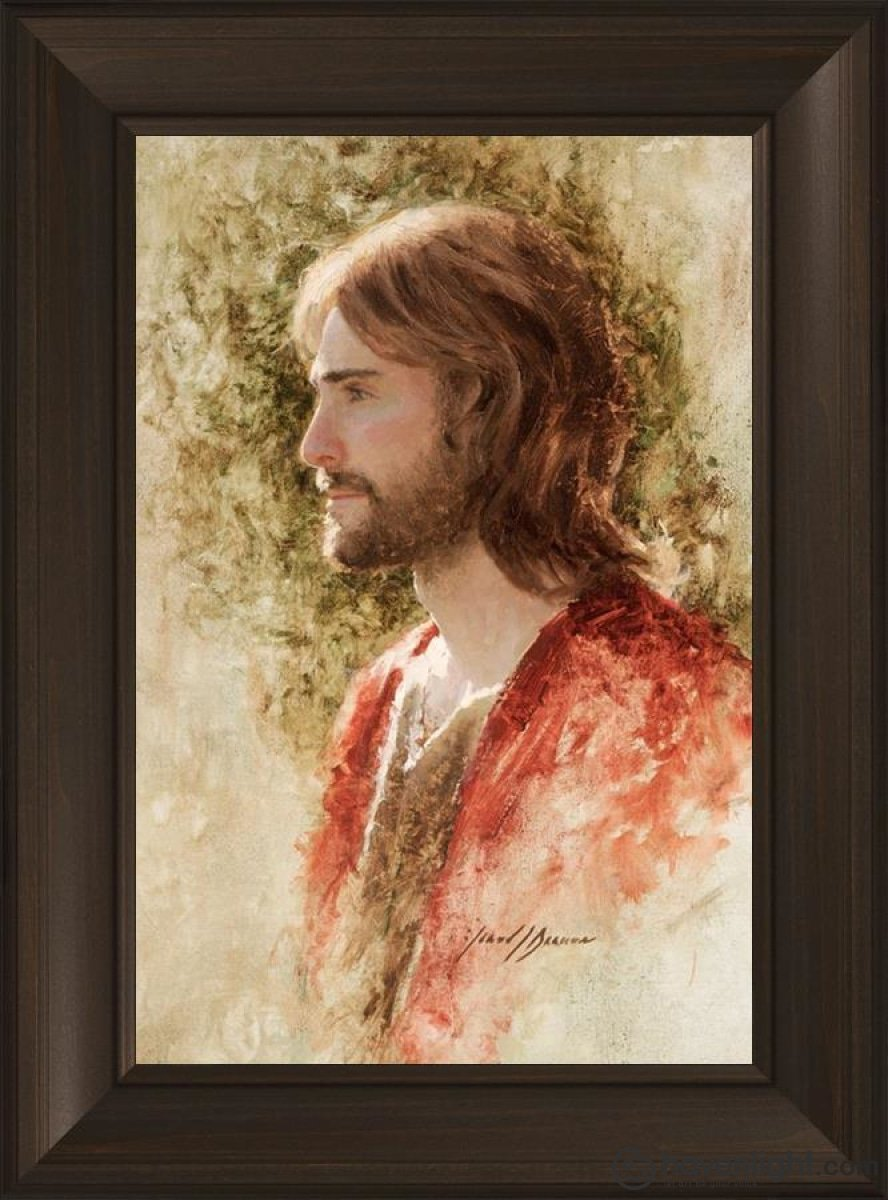 Prince Of Peace Open Edition Canvas / 16 X 24 Frame B 30 3/4 22 Art