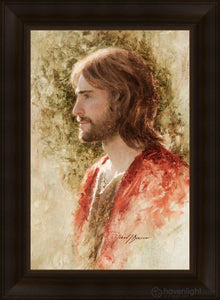 Prince Of Peace Open Edition Canvas / 16 X 24 Frame C 29 3/4 21 Art