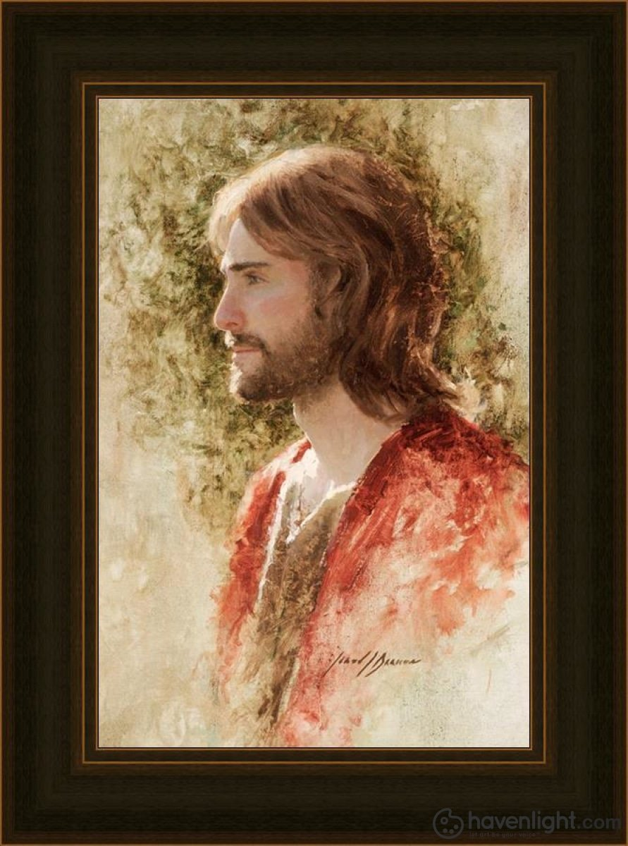 Prince Of Peace Open Edition Canvas / 16 X 24 Frame D 31 23 Art