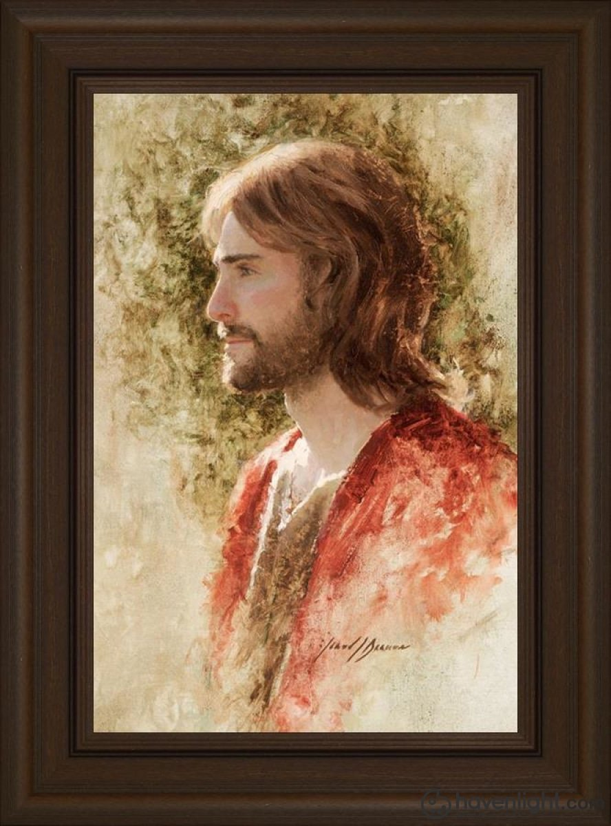 Prince Of Peace Open Edition Canvas / 16 X 24 Frame E 30 3/4 22 Art